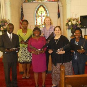 Choir at Vanderbilt Moravian Church